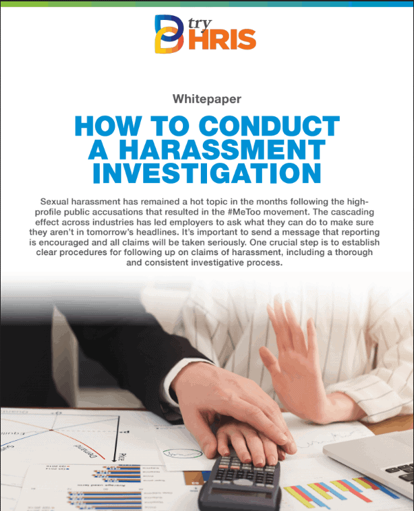 White Paper: How to Conduct a Harassment Investigation