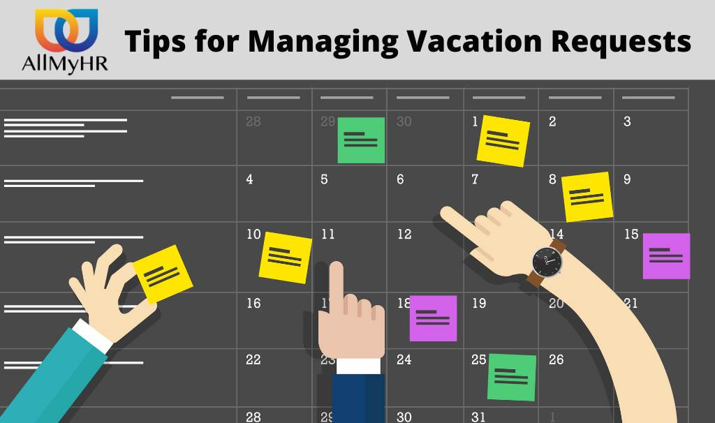 Tips to Manage Vacation Requests
