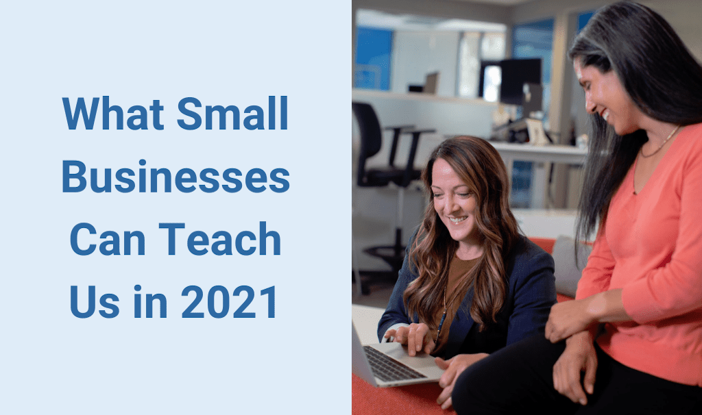 What Small Businesses Can Teach